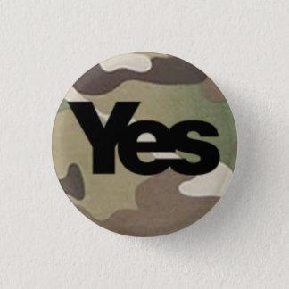 Badge Rond 2,50 Cm De camouflage insigne oui