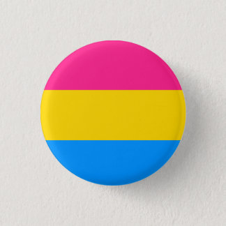 Badge Rond 2,50 Cm Drapeau Pansexual de fierté