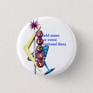 Badge Rond 2,50 Cm Enseigne au néon de cru d'insigne d'identification