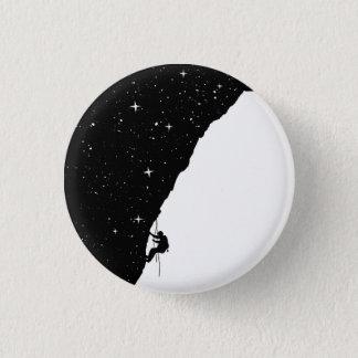 Badge Rond 2,50 Cm Escalade de nuit