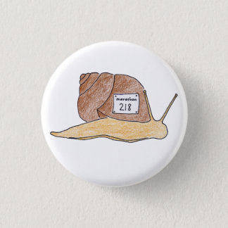 Badge Rond 2,50 Cm escargot