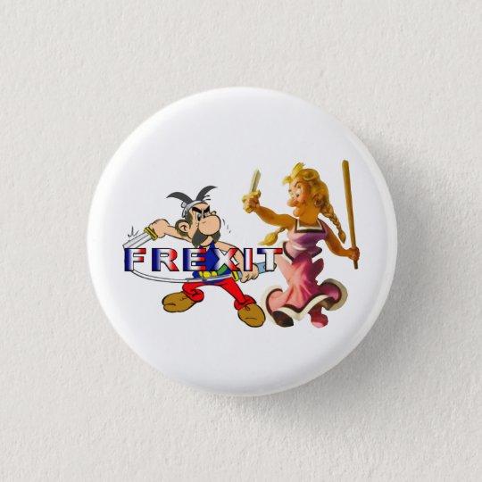 Badge Rond 2,50 Cm frexit binome