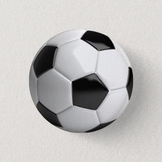 Badge Rond 2,50 Cm Goupille de ballon de football (football)/bouton -
