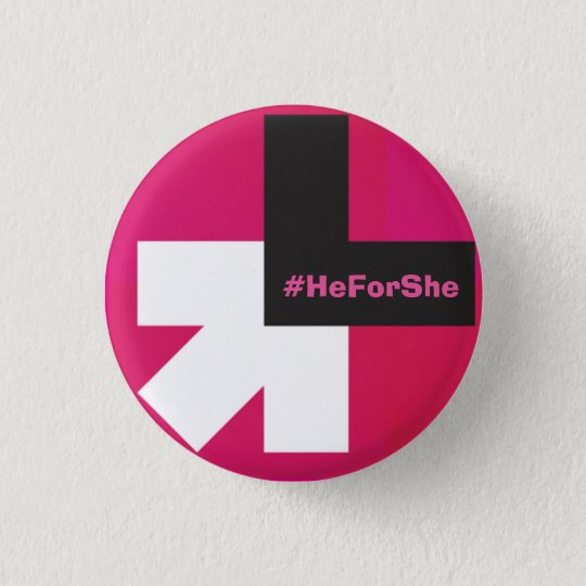 Badge Rond 2,50 Cm He for she bouton