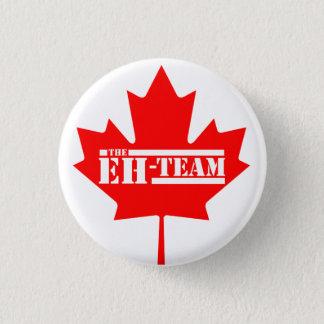 Badge Rond 2,50 Cm Hein feuille d'érable du Canada d'équipe