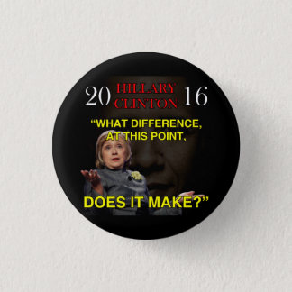 BADGE ROND 2,50 CM HILLARY QUELLE DIFFÉRENCE