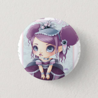 Badge Rond 2,50 Cm Ice Cream Lolita Myrtille