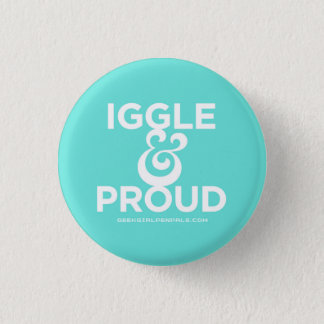 Badge Rond 2,50 Cm Iggle et Pin fier