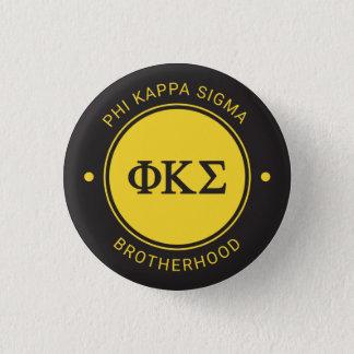 Badge Rond 2,50 Cm Insigne du sigma | de Kappa de phi