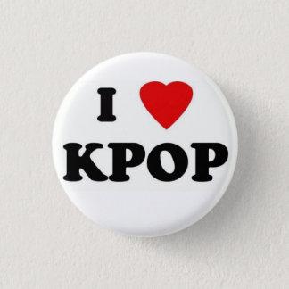 Badge Rond 2,50 Cm j'ai broché love kpop