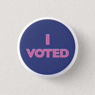 Badge Rond 2,50 Cm J'ai voté le bouton