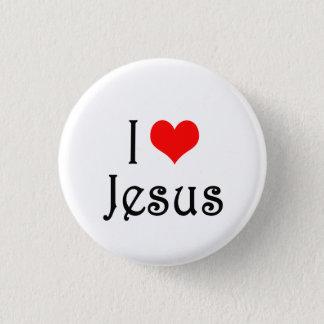 Badge Rond 2,50 Cm J'aime Jésus