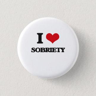 Badge Rond 2,50 Cm J'aime la sobriété
