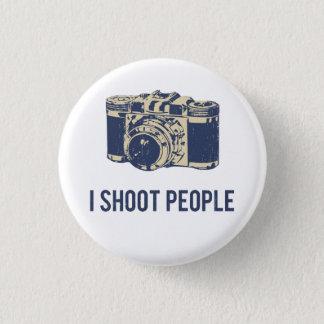 Badge Rond 2,50 Cm Je tire l'appareil-photo de photographie de