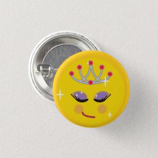 Badge Rond 2,50 Cm Jolie princesse Emoji