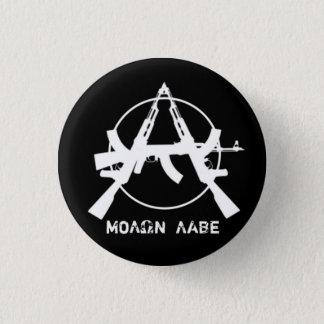 Badge Rond 2,50 Cm L'anarchie de Molon Labe lance le bouton