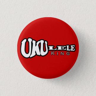 Badge Rond 2,50 Cm Le Roi Small Button d'ukulélé