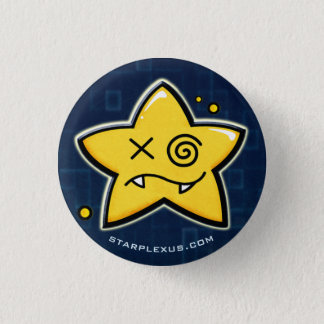 Badge Rond 2,50 Cm le starplexus confondent le bouton