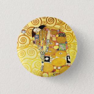 Badge Rond 2,50 Cm Les Amateurs de bourse Gustav Klimt