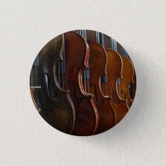 Badge Rond 2,50 Cm Ligne de violon