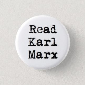 Badge Rond 2,50 Cm Lisez Karl Marx