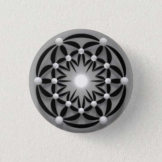 Badge Rond 2,50 Cm Mandala