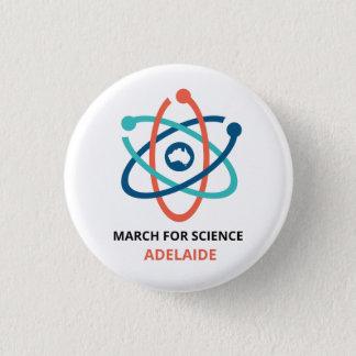 Badge Rond 2,50 Cm Mars pour la Science - Adelaïde -