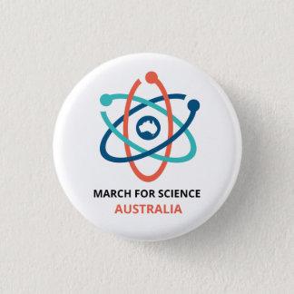 Badge Rond 2,50 Cm Mars pour la Science - Australie -