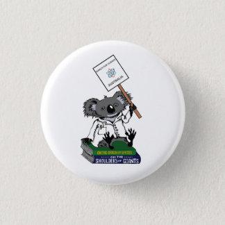 Badge Rond 2,50 Cm Mars pour la Science Australie - koala -