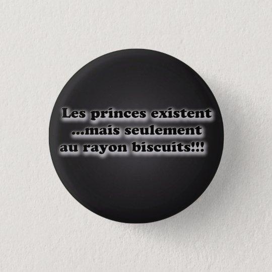 Badge Rond 2,50 Cm message: les princes  charmants