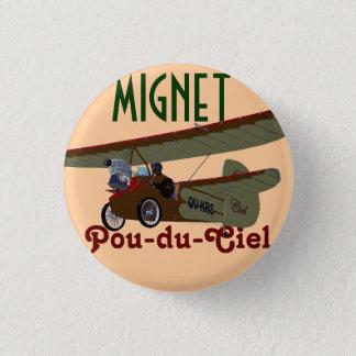 Badge Rond 2,50 Cm Mignet Pou-du-Ciel KRS
