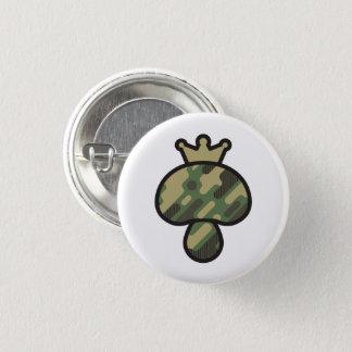 Badge Rond 2,50 Cm Motif de camouflage de champignon