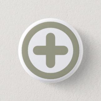 Badge Rond 2,50 Cm Mouvement Victoire 0005