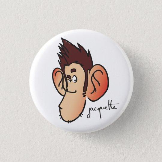 Badge Rond 2,50 Cm nicolas jacquette avatar suspicieux