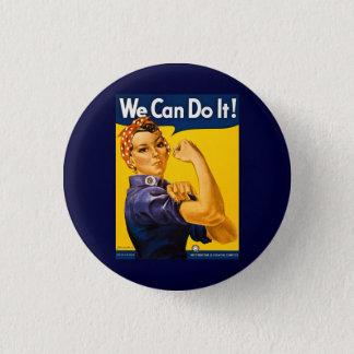Badge Rond 2,50 Cm Nous pouvons le faire ! Rosie le cru 2ÈME GUERRE