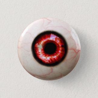 Badge Rond 2,50 Cm Oeil éffrayant - Halloween