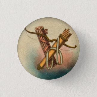 Badge Rond 2,50 Cm Paquet de flèches d'arc de bouton de bâtons