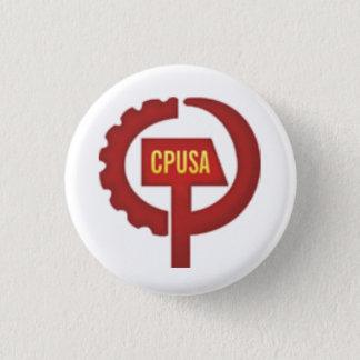 Badge Rond 2,50 Cm parti communiste Etats-Unis