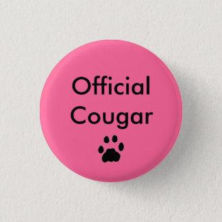 Badge Rond 2,50 Cm Pawprint de BOUTON, puma officiel