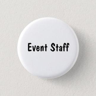 Badge Rond 2,50 Cm Personnel d'événement