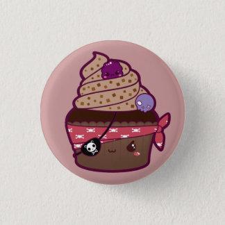 Badge Rond 2,50 Cm Petit gâteau de pirate