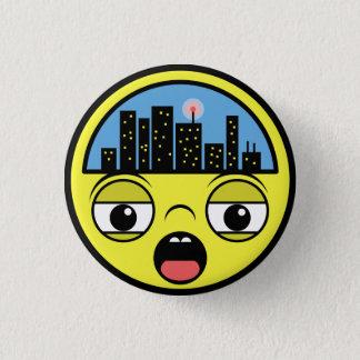 Badge Rond 2,50 Cm Petite ville somnolente