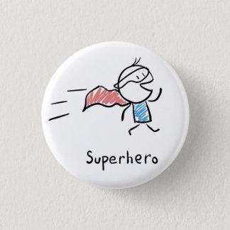 Badge Rond 2,50 Cm Pin de superhéros