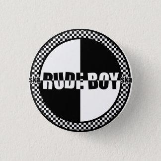 Badge Rond 2,50 Cm Pin grossier de garçon