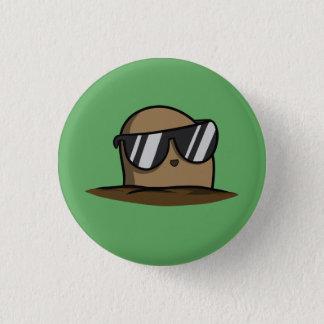 Badge Rond 2,50 Cm Pomme de terre fraîche