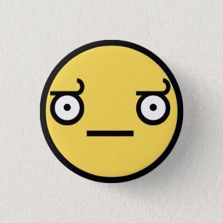 Badge Rond 2,50 Cm Regardez du bouton de désapprobation