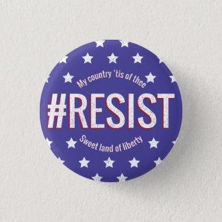Badge Rond 2,50 Cm #Resist