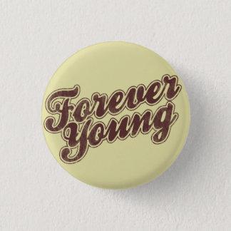 Badge Rond 2,50 Cm Rétro talent pour toujours jeune