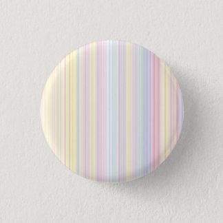 Badge Rond 2,50 Cm Rêve heureux - rayure colorée élégante