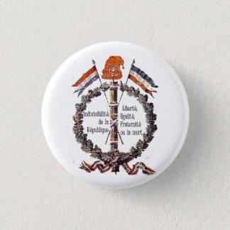 Badge Rond 2,50 Cm révolutionnaire